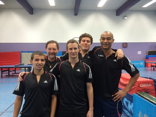 R gionale 1 equipe 3 paris tennis de table esp rance de reuilly - Club tennis de table paris ...